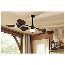 details about harbor breeze twin 74 in oil rubbed bronze in outdoor downrod mount ceiling fan