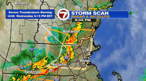 Severe thunderstorm warning issued for ...