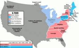missouri compromise  animation showing the slave status of u s states and territories 1789 1861 including the missouri compromise