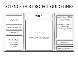 Science Fair Projects Layout Template For Science Fair Project Skincense Co