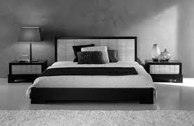 Minimalist Modern Bedroom Black And White Bedroom Interior Design In Minimalist Black Modern