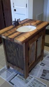 Bathroom Vanities Pinterest Rustic Bath Pinterest Rustic Bathroom Vanity Barn Wood Pine