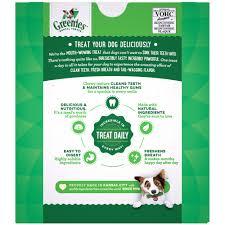 Greenies Original Petite Dental Dog Treats 27 Oz Count Of