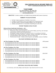 Sample Resume For Nursing Aide With No Experience New Certified