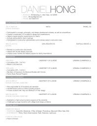 Sample Of Chronological Resume Format Papei Resumes