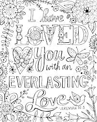 Free Bible Coloring Pages Free Printable Scripture Verse Coloring