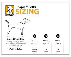 Ruffwear Hoopie Collar Size Guide