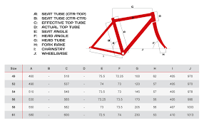 Specialized Road Size Chart Specialized Road Bike Sizing Chart For Women Fuji Road Bike