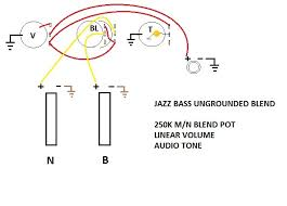 ultimate no load ungrounded blend pot pics talkbass com it also works just fine out cutting the traces you still get the smooth blending between pickups and you still avoid extra loading loss from the blend