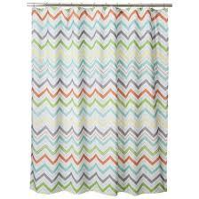 image of target shower curtain zig zag