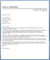 Mechanical Engineering Intern Cover Letter Cover Letter For Manufacturing Engineering Internship Sample Cover