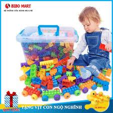 Bộ đồ chơi lắp ghép giúp phát triển trí tuệ bằng nhựa cho bé, bộ đồ chơi  thông minh