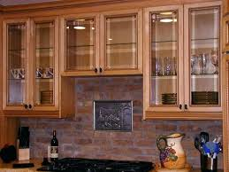 kitchen cabinet glass inserts toronto door wall where to fo