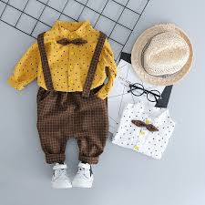 Toddler Children Clothes Suits Baby <b>Clothing</b> Boy Sets Shirt+Pants ...