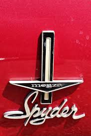 Designer 8 El Segundo Corvair Monza Spyder Fender Badge At Automobile Drive Museum