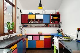 colorful kitchen ideas. Plain Kitchen View In Gallery Multicolored Shelves Create A Fun And Dynamic Kitchen  Design Ande Bunbury Architects On Colorful Kitchen Ideas