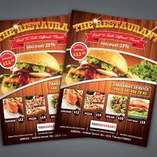 Flyer Design Food Flyer Design Food Rome Fontanacountryinn Com