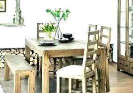 Rough Wood Dining Table Or Rustic Dining Furniture Rustic ...