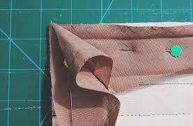 How to mitre binding for quilt cornersMade Peachy & Echino14A Adamdwight.com