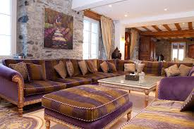 brown and purple sofa low budget interior designbrown and purple living room living room ideasred and