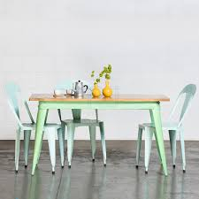 Retro Dining Tables 40 Beautiful Pieces Of Mint Green Home Decor