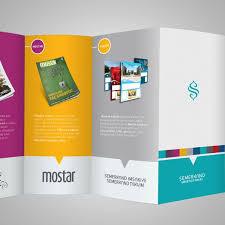 2 Folded Brochure Template 20 Simple Yet Beautiful Brochure Design Inspiration