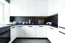 Cuisine Gris Et Noir Terrible Deco Blanc