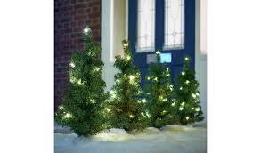 Buy Argos Home <b>Set of 4 Christmas</b> Tree Path Finders   Outdoor ...