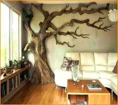 metal wall art large trees