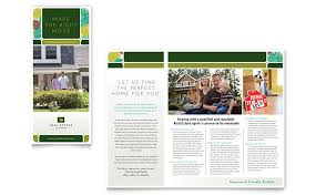 Real Estate Brochure Template Word Publisher