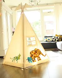 Accessories, : Lovely Teepee For Kids With Animal Pattern For Indoor
