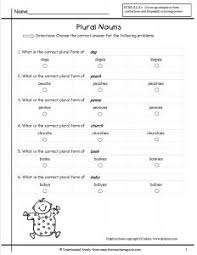 resume plural awesome collection of plural nouns worksheet home schooling