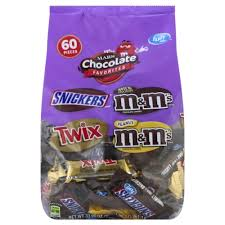 chocolate favorites fun size
