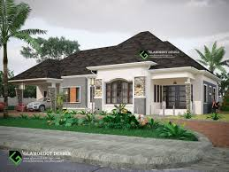 2 Car Garage Designs 4 Bedroom Bungalow Design With A 2 Car Garage Attached For