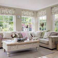 Lovely Lovely Country Casual Living Room Complete With Topiary #romanblinds. # Livingroom #interiordesign Awesome Design