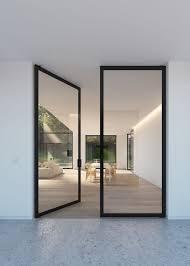 house plans with double front doors new double glass door with steel look frames