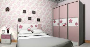 Pink And White Wallpaper For A Bedroom 3d Interior Design Of Bedroom Pink And Blue 3d House Free 3d