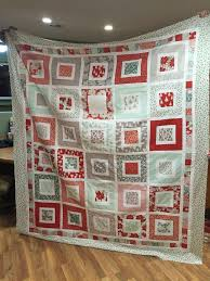 25 best Quilts by Me images on Pinterest | Quilting, Fabrics and ... & Missouri Star Quilt Company - Square in a Square. Moda Winterberry fabric  line Adamdwight.com