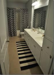Creativity Double Shower Curtain Ideas Bathroom Graceful 805112269 D Inside