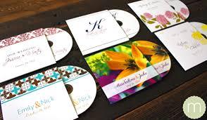 Wedding Cd Labels Monogramwedding Cd Wedding Favors
