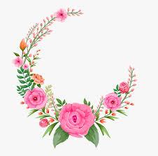 pink rose flowers flower frame free hd
