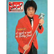 Discussionit's billy joel day everybody! Ciao 2001 13 04 1980 Italian 1980 Billy Joel Front Cover Magazine By Billy Joel Magazine With Gmvrecords Ref 119444356