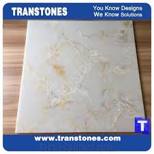 china backlit onyx sheet transtones faux marble office reception countertops