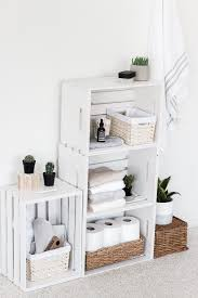 Wood crate furniture diy Pretoria Sale The Spruce 25 Ways To Decorate With Wooden Crates