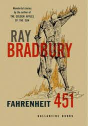 fahrenheit  this original cover shows a drawing of a man who appears to be made of