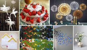 Flower Decoration Design 100 Extraordinary Beautiful DIY Paper Decoration Ideas 23