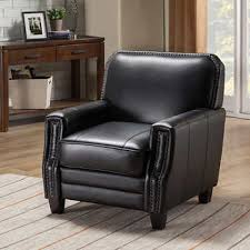 mac at home extra large moon chair with ottoman. hallandale top grain leather club chair - black mac at home extra large moon with ottoman