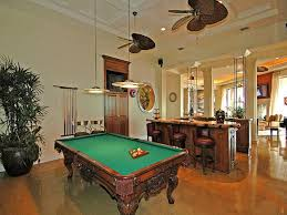 Home game room Pinball Machines Game Room Also Exists In The House Featuring Pendant Lights In Coffered Ceiling Don Pedro 75 Fun Game Entertainment Room Ideas For 2019