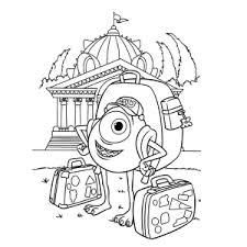 Leuk Voor Kids Monsters University Kleurplaten