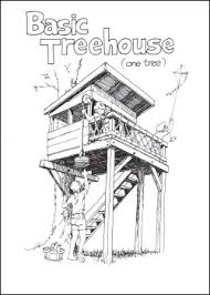 how to draw a treehouse step by step.  Draw Treehouses And Playhouses Book Includes Designs  And Plans How To Draw A Treehouse Step By